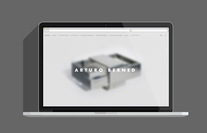 Web de Arturo Berned